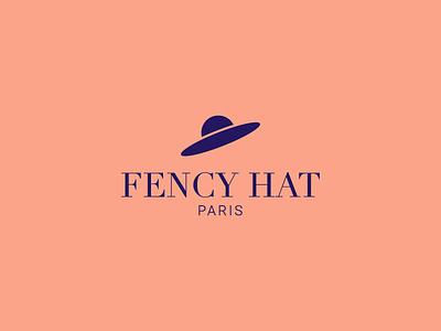 Fency Hat - PARIS brussels freelance designer ai paris hat fency illustrator adobe logo