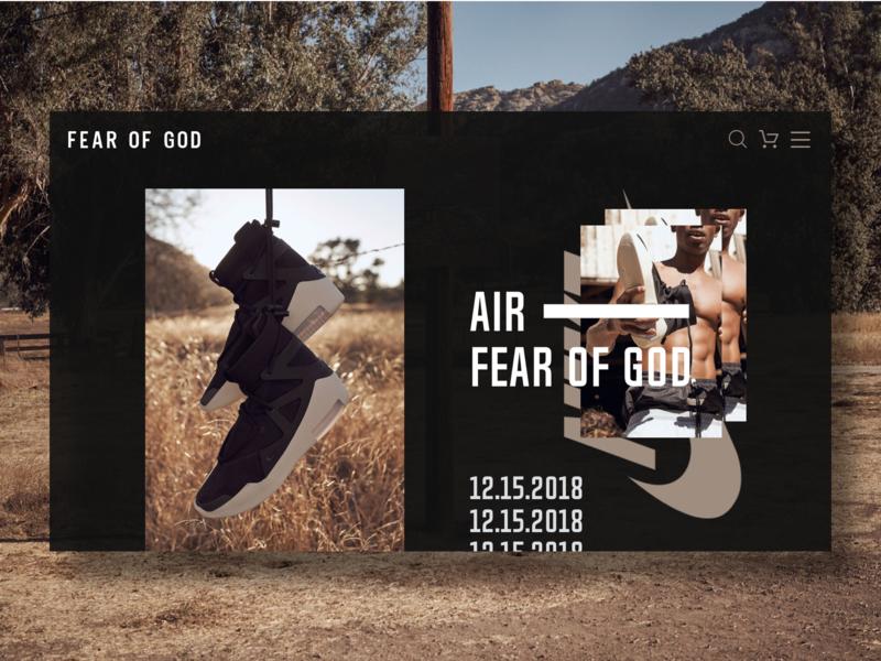 AIR FEAR OF GOD sneakers nike air fear of god