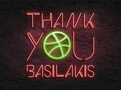Thank You Basilakis!