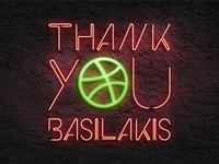 Thank You Basilakis!