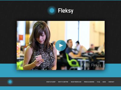 Fleksy.com Website Design