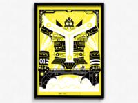 YELLOWTRON (CMYK Poster Series)