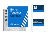Abide Signage Concepts