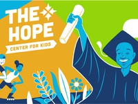 The Hope Center for Kids Mural Concept