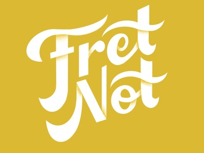"""Word Wednesday #1: """"Fret Not"""" benlueders typedesign typography type font letters hand lettering words wordwednesday quote bible scripture psalms ipad pro procreate illustration"""