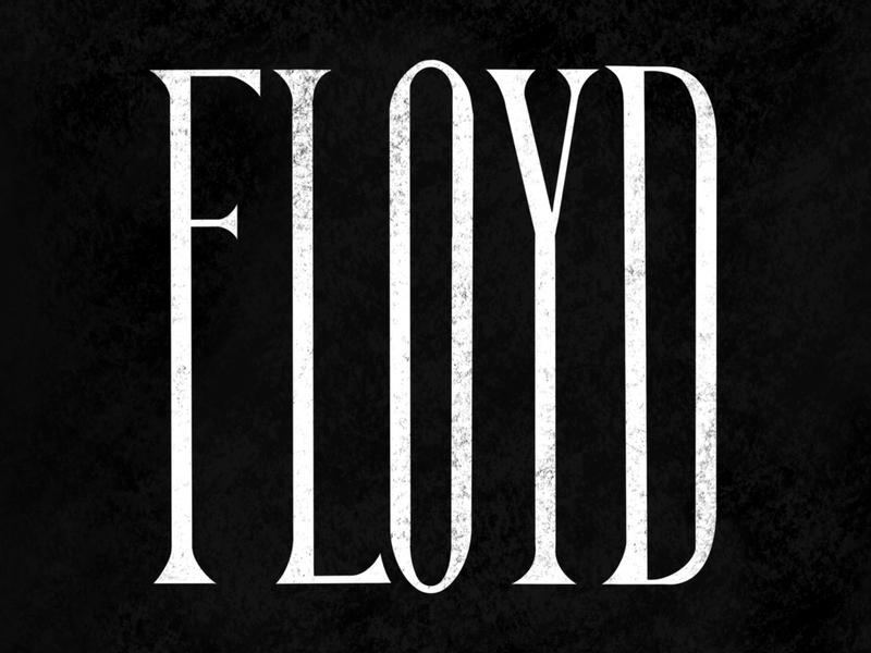 FLOYD wordwednesday hand lettering serif lettering black george floyd floyd blacklivesmatter blm
