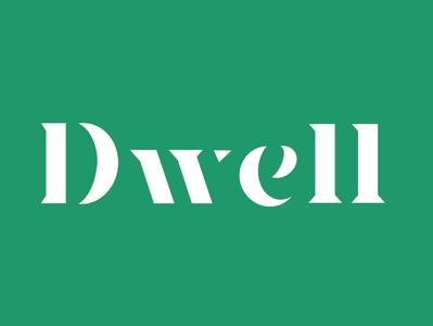 Dwell Lettering procreate lettering stencil font stencil abide bible verse bible dwell typography typographic logo font hand type handlettering lettering procreate