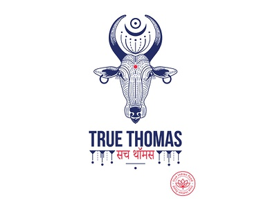 Olena Fedorova True Thomas Logo restaurantidentity restaurantlogo restaurant indian branding identity logotype logo
