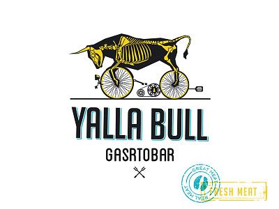 Olena Fedorova Yala Logo restaurantidentity restaurantlogo restaurant meat logo branding identity logotype logo