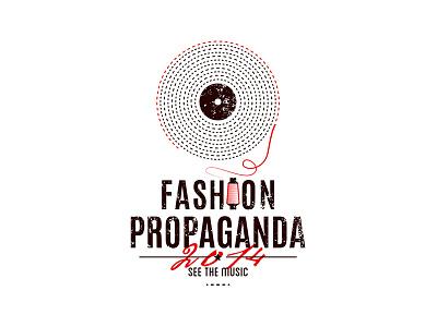 Olena Fedorova Fashion Propaganda Logo musiclogo music fashion store branding identity logotype logo