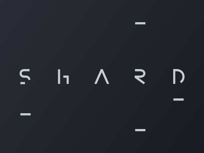 Shard resource coming freebie soon download typography font typeface