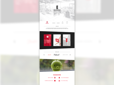 Onepagelove - Corporate website