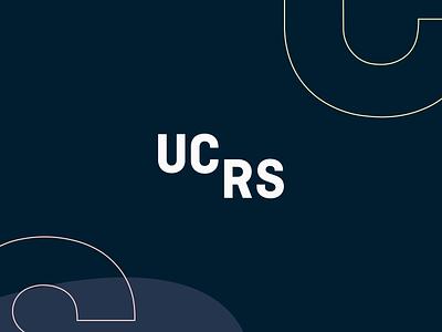 UCRS Branding illustration rebrand mark logo identity branding brand