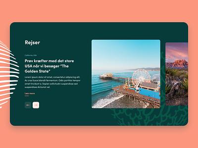Website block exploration illustration images cards card button gallery travel web design webdesign web website ux ui landingpage landing