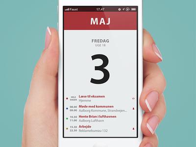 Calendar Application Prototype