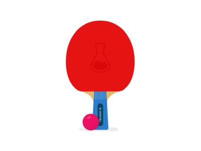 Ping Pong Paddle ping pong illustration jobs