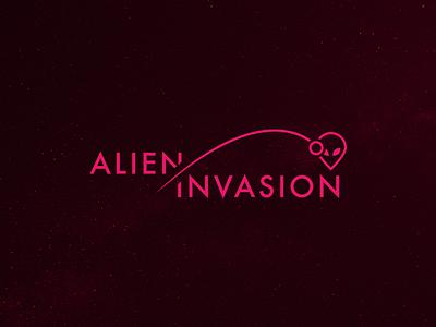 Alien Invasion halloween interactive marketing website symbol branding