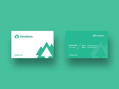 Adsdean branding logo business cards branding