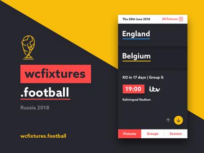 wcfixtures.football mobileapp userinterface ui worldcup football
