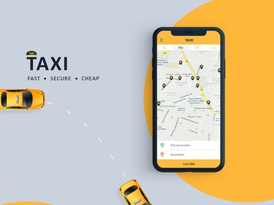Taxi Application | Ui/Ux