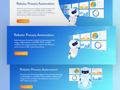 Banner Design - Robotic Process Automation (RPA)