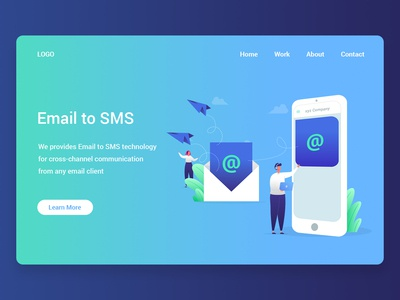 Email To Sms | Illustration