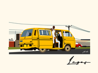 Illustration: Lagos City.!