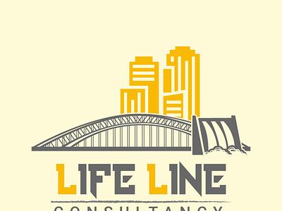 Logo designing for Construction typography branding ux desgin logodesign illustration uidesign
