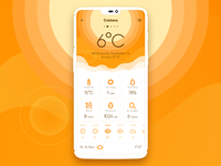 [W.I.P] Weather App Sunny Screen
