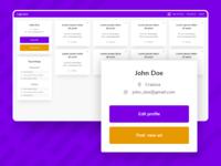 [Update] - Educational Web App Profile Screen