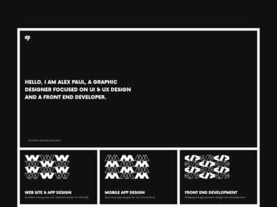 Personal website & porfolio