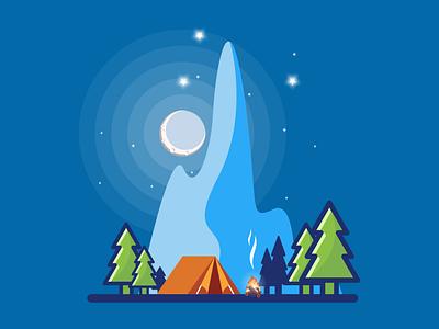 mount snow branding illustration icon vector sketch design logo