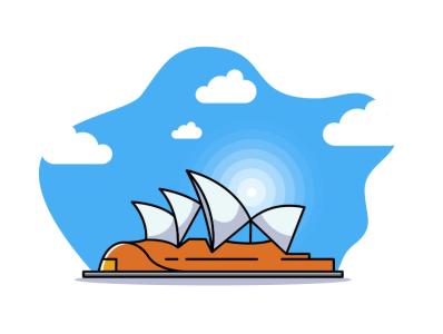 sydney design vector pencil bird illustration icon coffee film music vector sketch design logo