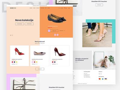 Shoe Shop - website design
