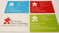 All the Way Home Consulting Business Cards