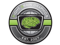Right Brain Graphics Seal