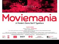 Moviemania - Sans Serif font Family - Multilingual  - 12 Style