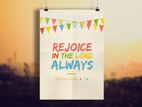 Rejoice | Prints of Truth
