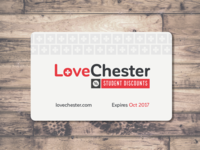 Love Chester Discount Card