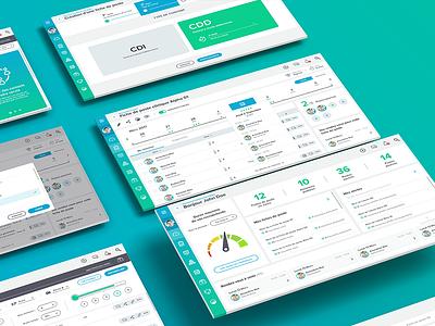 Dashboard UI dashboard dashboard ui zokay interface freelance website web ux home page webdesign ux  ui ux challenge uidesign ui interface designer design dayliui