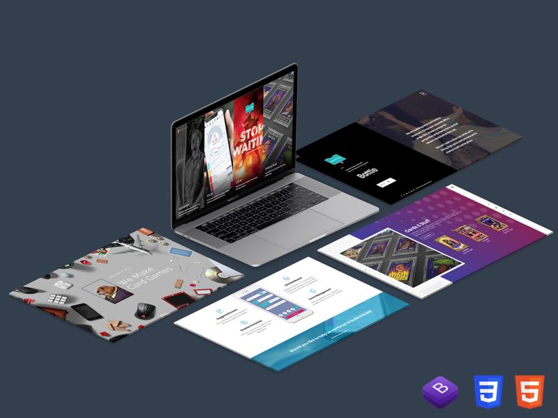 VaranIDEA 2020 rebranding html css html5 websites web branding design