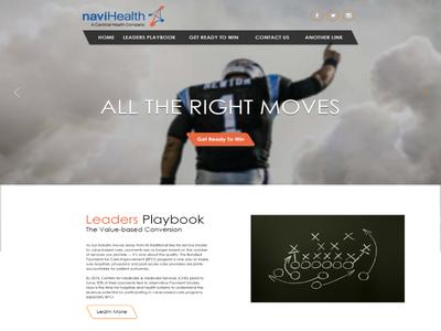 Newton Landing Page