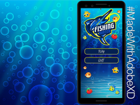 Fishing Hunter Mobile Game #MadeWithAdobeXD