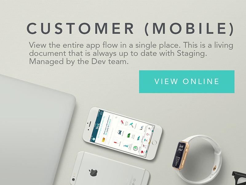 Customer Mobile branding mockup app mobile design