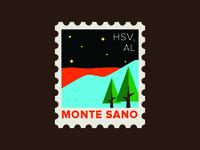 Monte Sano Stamp