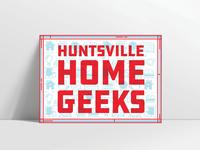 Huntsville Home Geeks Postcard