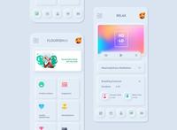 Neomorphism Soft UI Design for mobie app