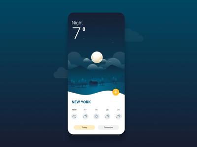 Ui Ux Design for Weather app