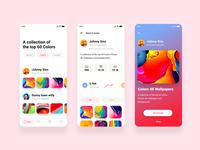 Ui for wallpaper app