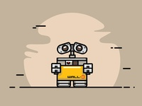 Wall-E Illustration